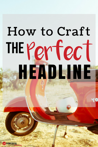 Learn to craft the perfect headline that begs to be clicked! Amazing headlines are your articles first impression, don't waste time with boring! Make sure your headlines are powerful and covert more readers.