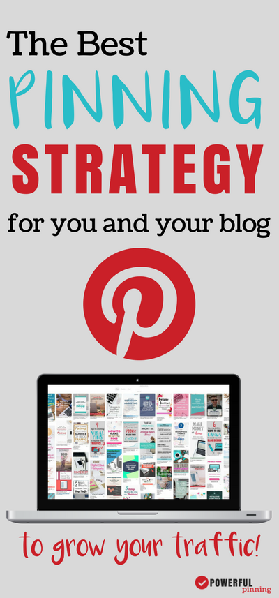 Are you using Pinterest to drive traffic to your blog? Learn how to create the best Pinterest strategy for your blog. | Pinterest Tips | Pinterest Marketing | Blogging