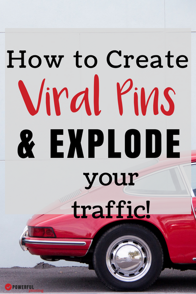 What does it take to go viral on Pinterest? Take an inside look at a viral pin and learn how to create your own viral pins to explode your blog traffic from Pinterest! Pinterest Tips| How to Blog | Pinterest Marketing