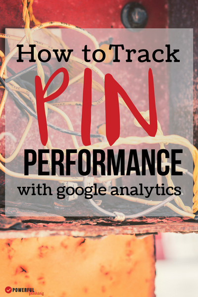 Pinterest Tip: Do you know if your pins are driving traffic to your blog? Learn how to track pin performance using Google Analytics and make sure your pinterest designs are working!
